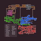 Super Metroid Map by Charles Caldwell