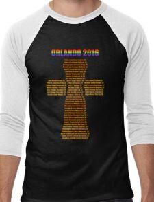 Orlando Remembered Men's Baseball ¾ T-Shirt