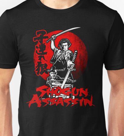 LONEWOLF AND CUB AKA SHOGUN ASSASSIN SHINTARO KATSU JAPANESE RETRO SAMURAI MOVIE  Unisex T-Shirt