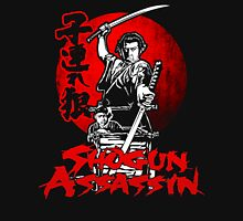 LONEWOLF AND CUB AKA SHOGUN ASSASSIN SHINTARO KATSU JAPANESE RETRO SAMURAI MOVIE  Unisex T-Shirt