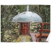 Today's Version of a Mayan Sweat Lodge in the Jungle, Guatemala Poster