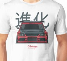 Lancer Evo IX (red) Unisex T-Shirt