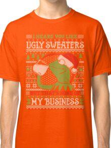 I Heard You Like Ugly Sweaters Classic T-Shirt