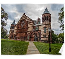 Princeton University Alexander Hall Poster