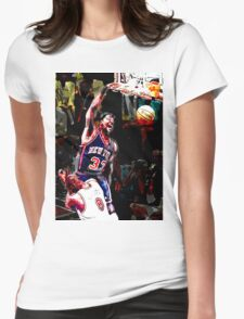 Old School NBA - Ewing Womens Fitted T-Shirt
