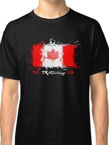 The Tragically Hip Man Machine Poem Flag Classic T-Shirt