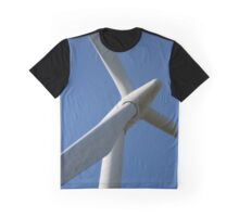 Wind Turbine Graphic T-Shirt