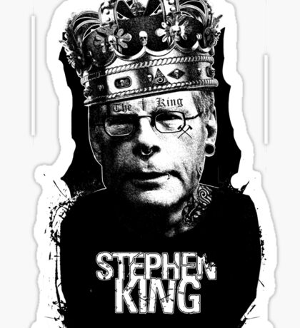 "Stephen King - ""The King"" Sticker"