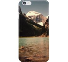 Canada lake iPhone Case/Skin