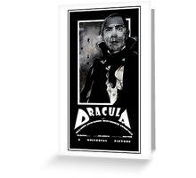 Dracula 1931 Greeting Card