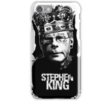 """Stephen King - """"The King"""" iPhone Case/Skin"""