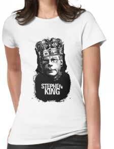 """Stephen King - """"The King"""" Womens Fitted T-Shirt"""
