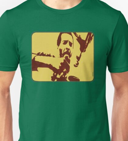 Richie Havens at Woodstock (drawing) Unisex T-Shirt