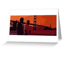 The Voyage Home Greeting Card