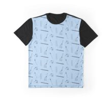 Art & Craft (blue) Graphic T-Shirt