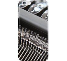 Typewriter .. iPhone Case/Skin