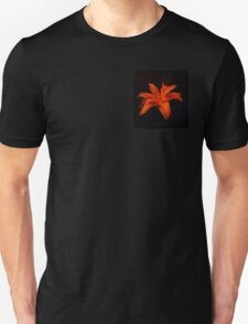 Orange Flower Unisex T-Shirt