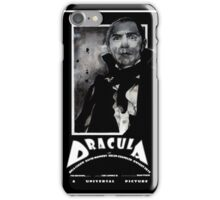 Dracula 1931 iPhone Case/Skin