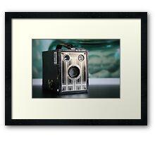 Art Deco Brownie  Framed Print