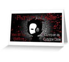 Phantom Of the Opera Parody Design Greeting Card