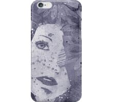 Lack Of Interest: Silver iPhone Case/Skin