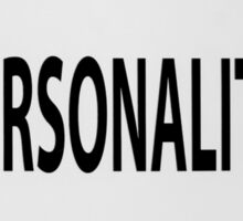 Free Personality Test Sticker