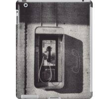 Waiting on a Call iPad Case/Skin