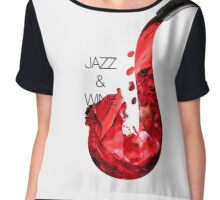 Jazz and wine Chiffon Top