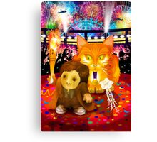 The Cospose - Ginger Olympiad Canvas Print
