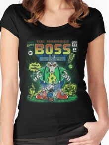 The Horrible Boss Women's Fitted Scoop T-Shirt