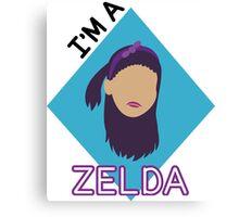 I'm a Zelda Canvas Print