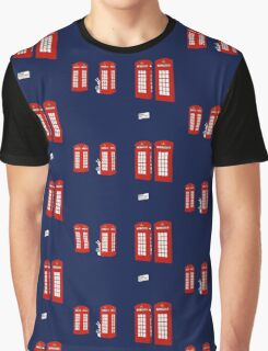 Easter bunny and telephone boxes Graphic T-Shirt