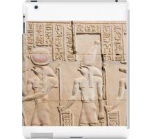 Hieroglyphs  iPad Case/Skin