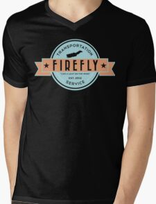 Firefly Transportation Mens V-Neck T-Shirt