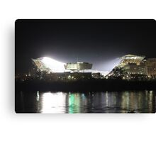 House of Football Canvas Print