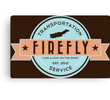 Firefly Transportation Canvas Print