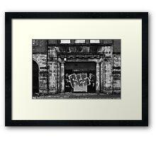 RES Framed Print