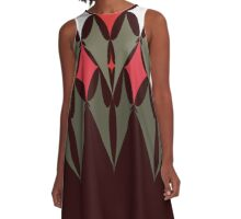 Batwings - Tomoko colourway A-Line Dress
