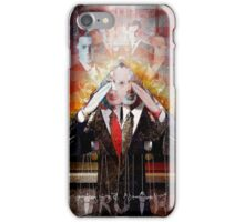 Remastered Portrait of Stephen Colbert iPhone Case/Skin