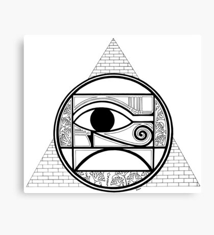 Symbol of Egypt Canvas Print