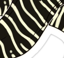 Zebra Moray Sticker