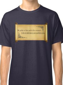 notes Classic T-Shirt