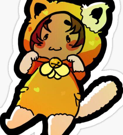 Cat hunk: Voltron Sticker