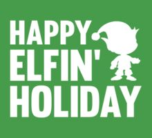 Happy Elfin' Holiday by DesignFactoryD