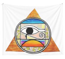 Symbol of Egypt (Colored) Wall Tapestry