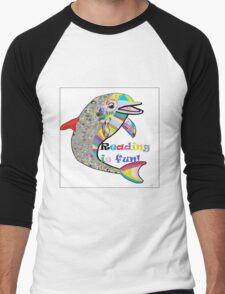 Reading is FUN! Men's Baseball ¾ T-Shirt