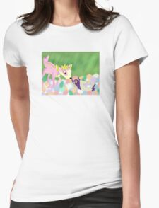 Bambi Pokemon Crossover Womens Fitted T-Shirt