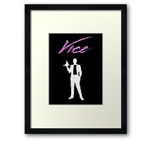 Vice - 80s Framed Print