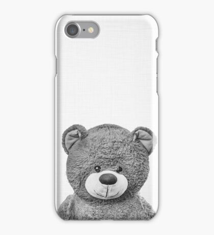 Can I be your teddy bear? iPhone Case/Skin