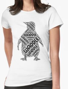 Waddle Waddle Womens Fitted T-Shirt